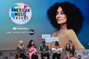 Bebe Rexha, Ella Mai, Kane Brown, Normani and Chelsea Briggs attend the 2018 American Music Awards Nominations Announcement at YouTube Space LA on September 12, 2018 in Los Angeles, California.