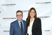 Nathan Lane and Rebecca Miller attend the 2018 Arthur Miller Foundation Honors at City Winery on October 22, 2018 in New York City.