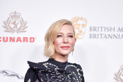 Cate Blanchett attends the 2018 British Academy Britannia Awards presented by Jaguar Land Rover and American Airlines at The Beverly Hilton Hotel on October 26, 2018 in Beverly Hills, California.