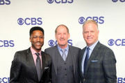 Nate Burleson, and Boomer Esiason attend the 2018 CBS Upfront at The Plaza Hotel on May 16, 2018 in New York City.