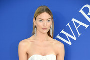 Martha Hunt attends the 2018 CFDA Fashion Awards at Brooklyn Museum on June 4, 2018 in New York City.