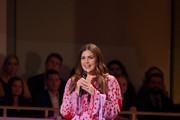 Hillary Scott of musical group Lady Antebellum speaks onstage during the 2018 CMT Artists of The Year at Schermerhorn Symphony Center on October 17, 2018 in Nashville, Tennessee.