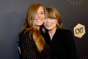 Schuyler Fisk (L) and Sissy Spacek attend the 2018 CMT Artists of The Year at Schermerhorn Symphony Center on October 17, 2018 in Nashville, Tennessee.