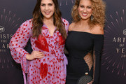 Hillary Scott (L) of musical group Lady Antebellum and Tori Kelly attends the 2018 CMT Artists of The Year at Schermerhorn Symphony Center on October 17, 2018 in Nashville, Tennessee.