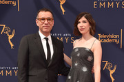 Fred Armisen and Carrie Brownstein attend the 2018 Creative Arts Emmys Day 2 at Microsoft Theater on September 9, 2018 in Los Angeles, California.