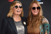 Roseanne Barr and  Brandi Brown attend during 2018 Disney, ABC, Freeform Upfront at Tavern On The Green on May 15, 2018 in New York City.