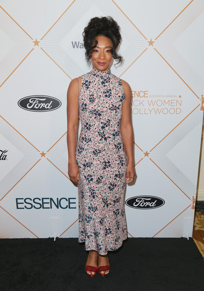 2018 Essence Black Women In Hollywood Oscars Luncheon - Red Carpet - 341 of 370