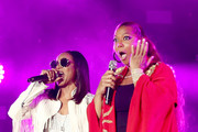 MC Lyte and Queen Latifah perform onstage during the 2018 Essence Festival presented By Coca-Cola - Day 2 at Louisiana Superdome on July 7, 2018 in New Orleans, Louisiana.