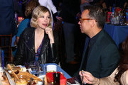 (L-R) Actors Carrie Brownstein and  Fred Armisen attend the 2018 Film Independent Spirit Awards on March 3, 2018 in Santa Monica, California.