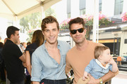 Jeremiah Brent, Poppy Brent-Berkus and Nate Berkus attends the 2018 GOOD+ Foundation's 3rd Annual Halloween Bash presented by Delta Air Lines and Otter Pops on October 28, 2018 in Culver City, California.