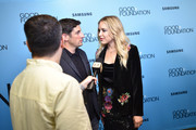 Jason Biggs (L) and Jenny Mollen attend the 2018 GOOD+ Foundation?s Evening of Comedy + Music Benefit, presented by Samsung Electronics America at Carnegie Hall on September 12, 2018 in New York City.
