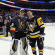 Sidney Crosby and Marc-Andre Fleury Photos