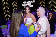 Ashley Graham and Noor Tagouri attend the 2018 Glamour Women Of The Year Awards: Women Rise on November 12, 2018 in New York City.