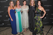 (L-R) Ginger Stickel, Colleen deVeer, Ashley Judd, Jenna Bush Hager, and Wendy Reyes attend the Changemaker Gala at L'Escale Restaurant during the 2018 Greenwich International Film Festival on May 31, 2018 in Greenwich, Connecticut.