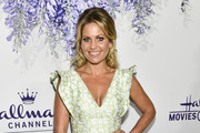 Actress Candace Cameron Bure attends the 2018 Hallmark Channel Summer TCA at a private residence on July 26, 2018 in Beverly Hills, California.