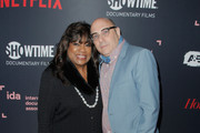Chaz Ebert and Willie Garson attend the 2018 IDA Documentary Awards on December 8, 2018 in Los Angeles, California.