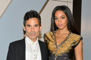 James Kaliardos (L) and Laura Harrier attend the 2018 InStyle Awards at The Getty Center on October 22, 2018 in Los Angeles, California.