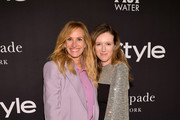 Julia Roberts (L) and Clare Waight Keller attend the 2018 InStyle Awards at The Getty Center on October 22, 2018 in Los Angeles, California.