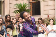 Venus Williams attends 2018 Lotte New York Palace Invitational on August 23, 2018 in New York City.