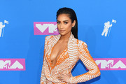 Shay Mitchell attends the 2018 MTV Video Music Awards at Radio City Music Hall on August 20, 2018 in New York City.
