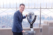 2018 Monster Energy NASCAR Cup Series Champion Joey Logano Visits The Empire State Building