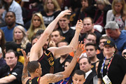 Kevin Love and Stephen Curry Photos Photo