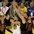 Larry Nance Jr. Jordan Clarkson Photos - Stephen Curry #30 of the Golden State Warriors attempts to pass around LeBron James #23, Jordan Clarkson #8 and Larry Nance Jr. #22 of the Cleveland Cavaliers in Game 1 of the 2018 NBA Finals at ORACLE Arena on May 31, 2018 in Oakland, California. NOTE TO USER: User expressly acknowledges and agrees that, by downloading and or using this photograph, User is consenting to the terms and conditions of the Getty Images License Agreement. - 2018 NBA Finals - Game One
