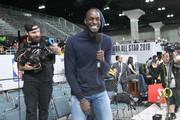 Kevin Garnett attends the 2018 NBA All-Star Game Celebrity Game at Los Angeles Convention Center on February 16, 2018 in Los Angeles, California.