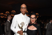 RuPaul (L) and Michelle Visage attend the 2018 Netflix Primetime Emmys After Party at NeueHouse Hollywood on September 17, 2018 in Los Angeles, California.