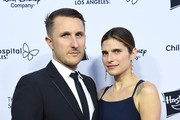Actress Lake Bell and husband Scott Campbell arrive at the 2018 From Paris With Love Children's Hospital Los Angeles Gala at L.A. Live Event Deck on October 20, 2018 in Los Angeles, California.