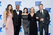 Hope Dworaczyk, Robert F. Smith, Hilaria Baldwin, Kerry Kennedy and Alec Baldwin attend the 2018 Robert F. Kennedy Human Rights' Ripple Of Hope Awards at New York Hilton Midtown on December 12, 2018 in New York City.