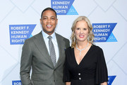 Don Leon and Kerry Kennedy attend the 2018 Robert F. Kennedy Human Rights' Ripple Of Hope Awards at New York Hilton Midtown on December 12, 2018 in New York City.