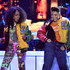Tisha Campbell Photos - Tichina Arnold (L) and Tisha Campbell perform onstage during the 2018 Soul Train Awards at the Orleans Arena on November 17, 2018 in Las Vegas, Nevada. - 2018 Soul Train Awards - Show