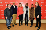 (L-R) Christine Vachon, Patrick Gaspard, Sarah Ellison, Issa Rae, Octavia Spencer and Megan Smith attend the Power Of Story Panel: Culture Shift during the 2018 Sundance Film Festival at Egyptian Theatre on January 19, 2018 in Park City, Utah.