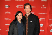 "Sundance Film Festival Senior Programmer Kim Yutani (L) and director Daryl Wein attend the ""White Rabbit"" and ""Lazercism"" Premieres during the 2018 Sundance Film Festival at Park Avenue Theater on January 19, 2018 in Park City, Utah."