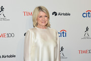 Martha Stewart attends the 2018 Time 100 Gala at Jazz at Lincoln Center on April 24, 2018 in New York City.