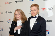 Actor Mia Farrow and journalist Ronan Farrow attend the 2018 Time 100 Gala at Jazz at Lincoln Center on April 24, 2018 in New York City.