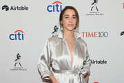 Gymnast Aly Raisman attends the 2018 Time 100 Gala at Jazz at Lincoln Center on April 24, 2018 in New York City.