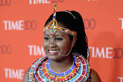 Human rights activist Nice Nailantei Leng'ete  attends the 2018 Time 100 Gala at Jazz at Lincoln Center on April 24, 2018 in New York City.