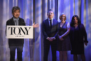 David Henry Hwang speaks onstage during the 2018 Tony Awards Nominations Announcement at The New York Public Library for the Performing Arts on May 1, 2018 in New York City.