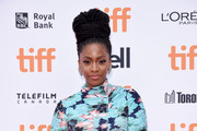 "Teyonah Parris attends the ""If Beale Street Could Talk"" premiere during 2018 Toronto International Film Festival at Princess of Wales Theatre on September 9, 2018 in Toronto, Canada."