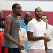 Carmelo Anthony and Kevin Durant Photos