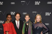 (L-R) Lorna Simpson, Adam Weinberg, Beth Rudin DeWoody and Joanne Leonhardt Cassullo attend the 2018 Whitney Gala Sponsored By Audi on May 22, 2018 at Whitney Museum of American Art in New York City.