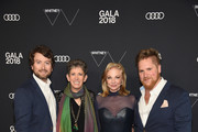 (L-R) Carlton DeWoody, Beth Rudin DeWoody, Joanne Leonhardt Cassullo and William Burton Binnie attend the 2018 Whitney Gala Sponsored By Audi on May 22, 2018 at Whitney Museum of American Art in New York City.