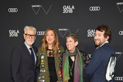 (L-R) Firooz Zahedi, Kyle DeWoody, Beth Rudin DeWoody and Carlton DeWoody attend the 2018 Whitney Gala Sponsored By Audi on May 22, 2018 at Whitney Museum of American Art in New York City.