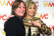Honoree Cindy Holland and Co-Founder Jane Fonda attend the 2018 Women's Media Awards at Capitale on November 1, 2018 in New York City.