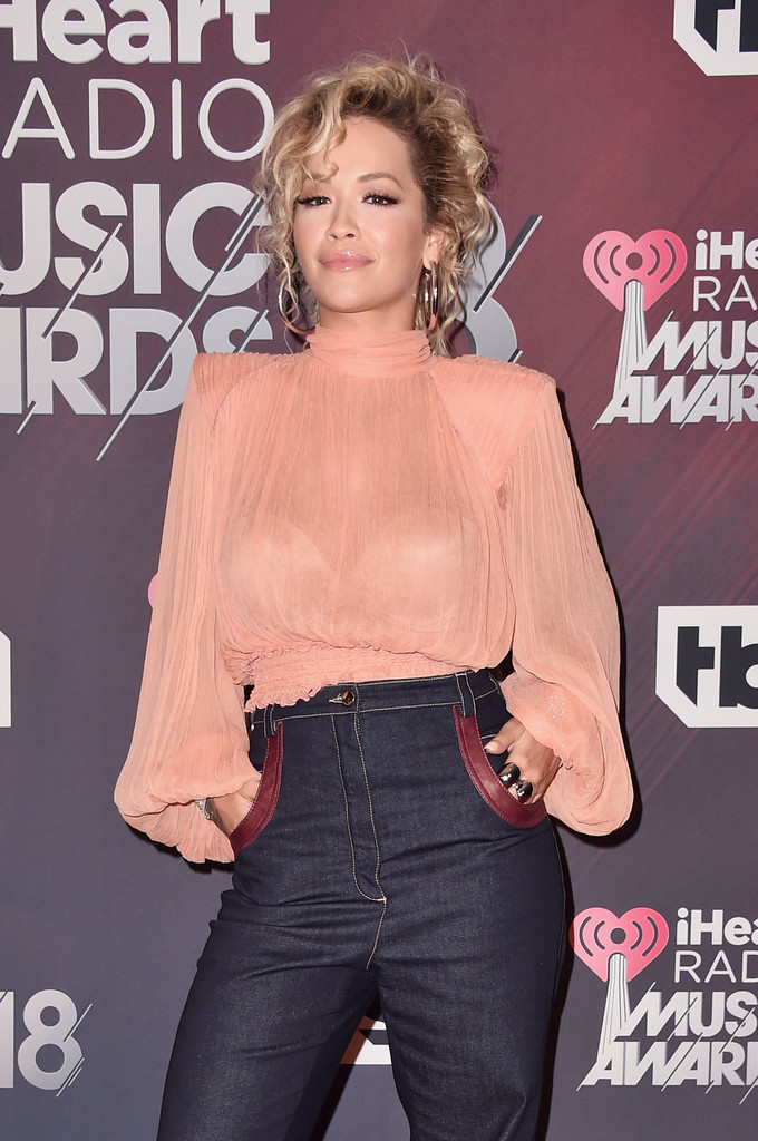 Rita Ora : 2018 iHeartRadio Music Awards, at The Forum on March 11, 2018, California.
