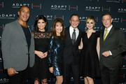 Mike Woods, Tamsen Fadal, Susan Lucci, Tony Danza, Cara Buono and Peter M. Meyer attend the 2019 2nd Annual ADAPT Leadership Awards at Cipriani 42nd Street on March 14, 2019 in New York City.