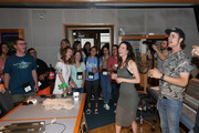 Producer Ross Copperman and Singer-songwriter Joy Williams join ACM Lifting Lives Music Campers on Music Camp Recording Studio Day on June 17, 2019 in Nashville, Tennessee.