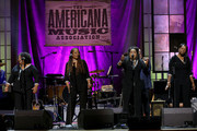 (L-R) Ann McCrary, Deborah McCrary, Regina McCrary and Alfreda McCrary of The McCrary Sisters perform onstage during the 2019 Americana Honors & Awards at Ryman Auditorium on September 11, 2019 in Nashville, Tennessee.